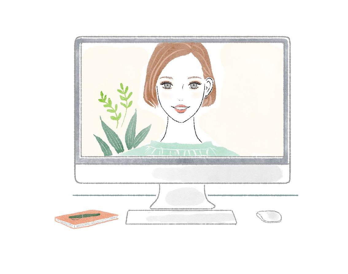 オンライン映えするコスメの選び方、使い方をレクチャー!