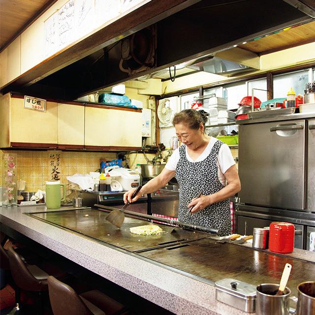 知る人ぞ知る名店 お好み焼き 吉野の「お好み焼き」【京都、あの店のあの一品】_1_2
