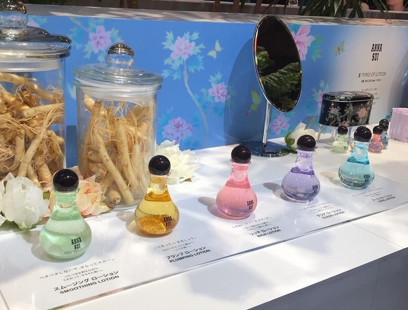 アナスイの新スキンケア、注目は5種類の化粧水