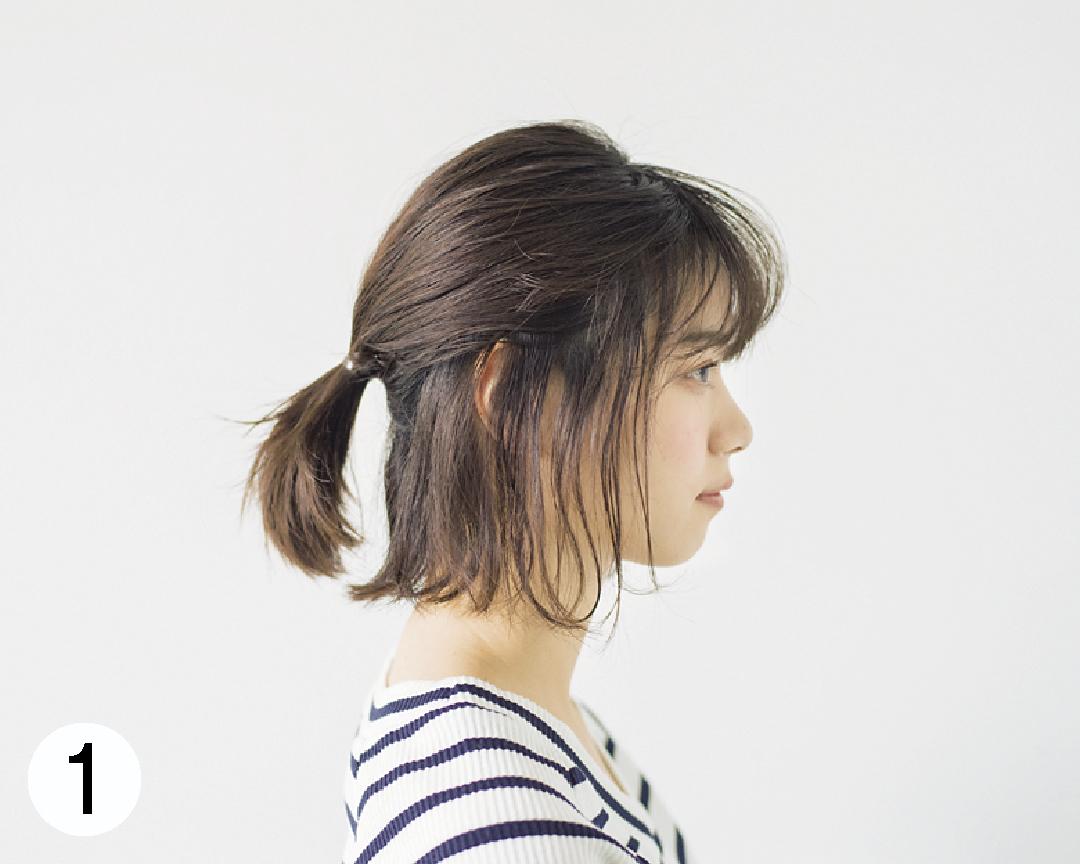 西野七瀬の#彼女感なまとめ髪♡ ボブのハーフアップ、ココが大事!_1_3-1