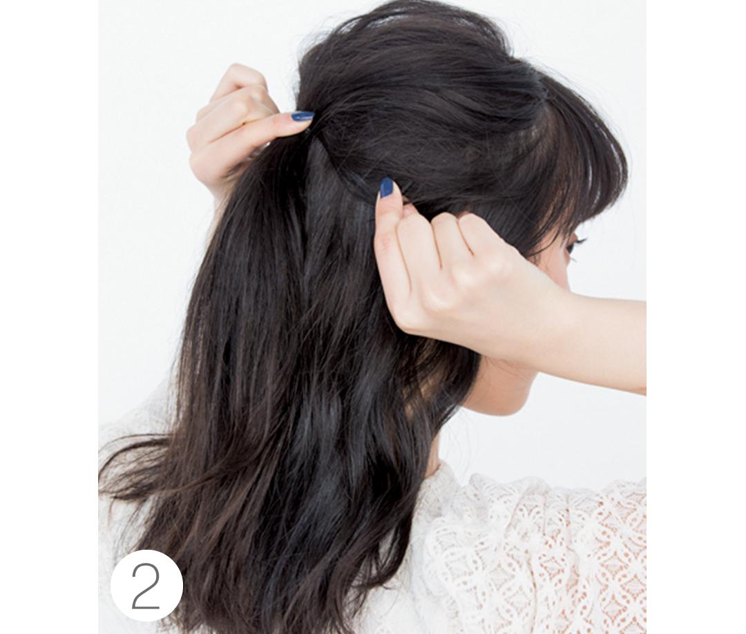 デートのときのヘアアレンジ♡ 1日中きれいに長持ちするのはコレ!_1_3-2