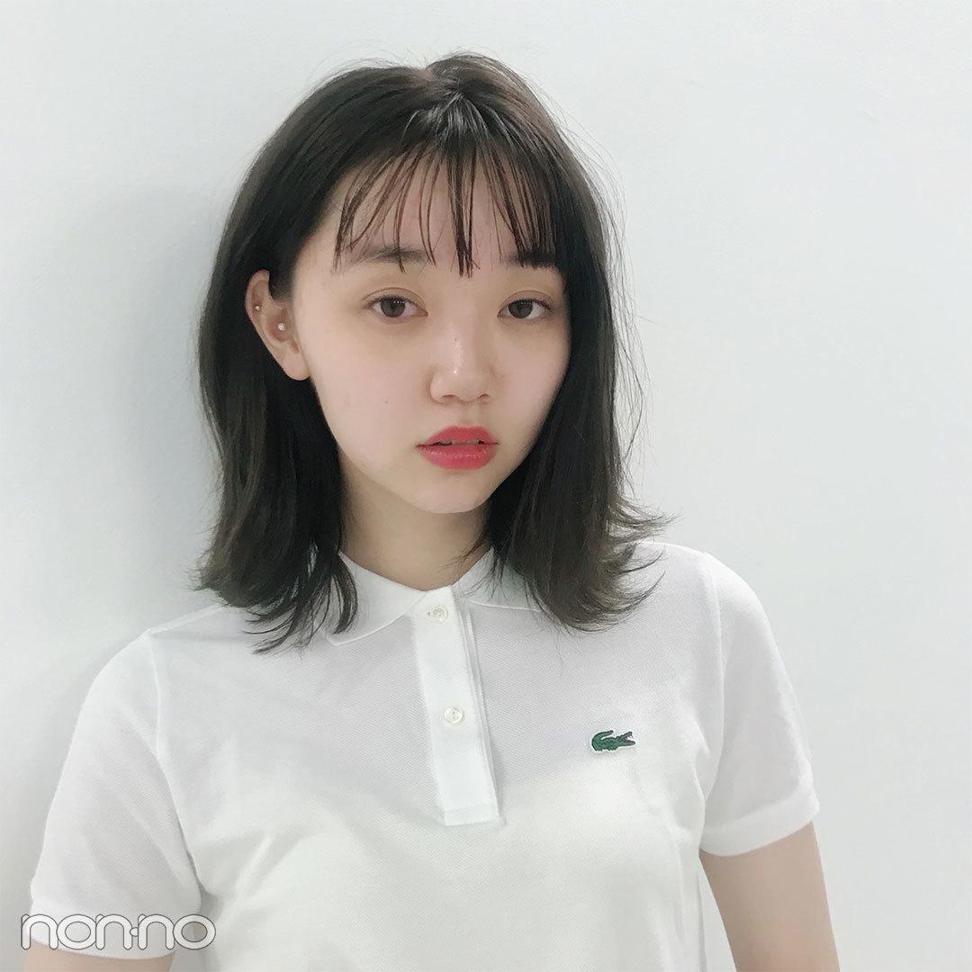 今日の愛美はラコステ×バレンシアガ×韓国で買ったミニスカート♡【モデルの私服スナップ】_1_2-1
