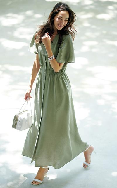 エクラ世代のデザイナーが作る、真夏のJマダムを素敵に見せる服_1_1