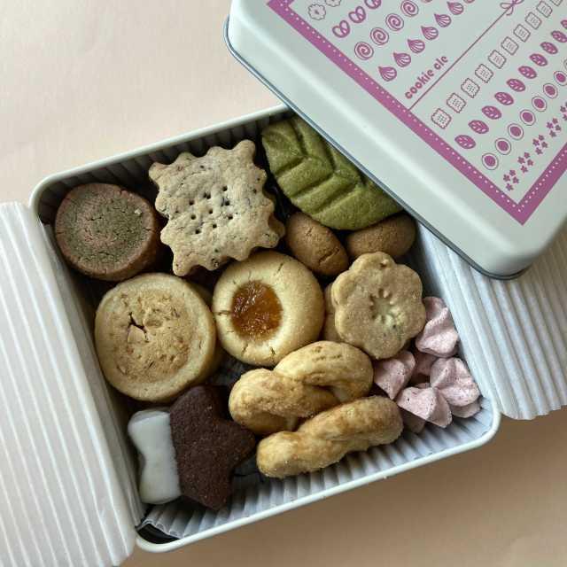 喜ばれる❤︎ 「クッキー クル」のクッキー缶_1_2