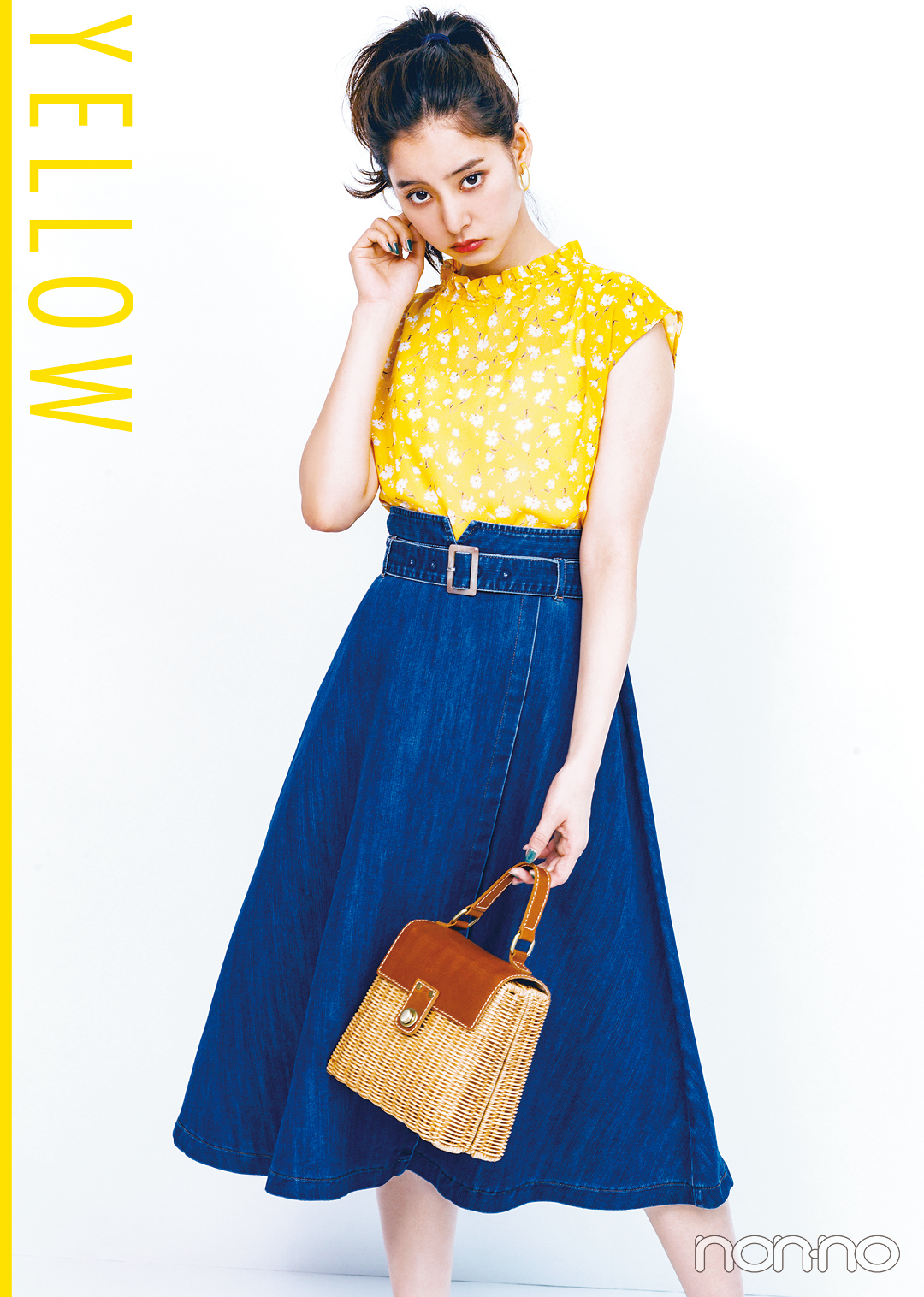 新木優子の夏色コーデ! 元気なひまわりイエローはこう着る♡ _1_2