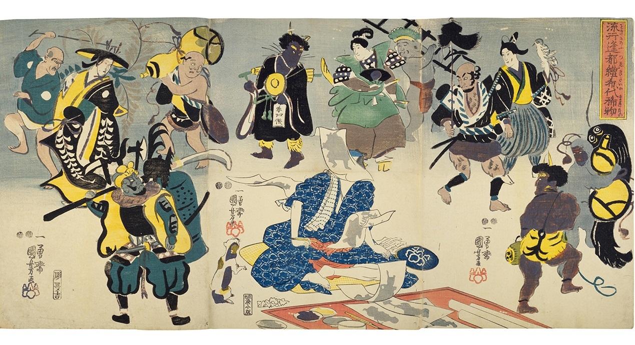 「大津絵」見たさに、東京駅詣で。_1_2