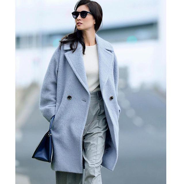 リュクス感をまとえる柔らか色のコート_1_1