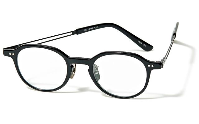 メガネ「オルガ」¥37,400/コンティニュエ(イエローズプラス)