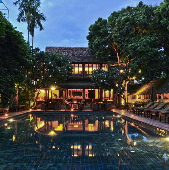隠れ家の趣き タイ チェンマイのラーンナースタイルホテル 5選_1_2-5