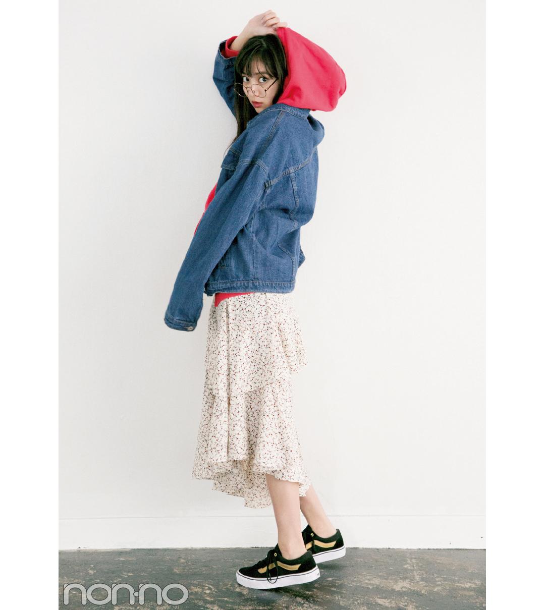 今ドキ韓国ファッション、色っぽ揺れ感のマーメイドスカートがブーム!_1_2-2
