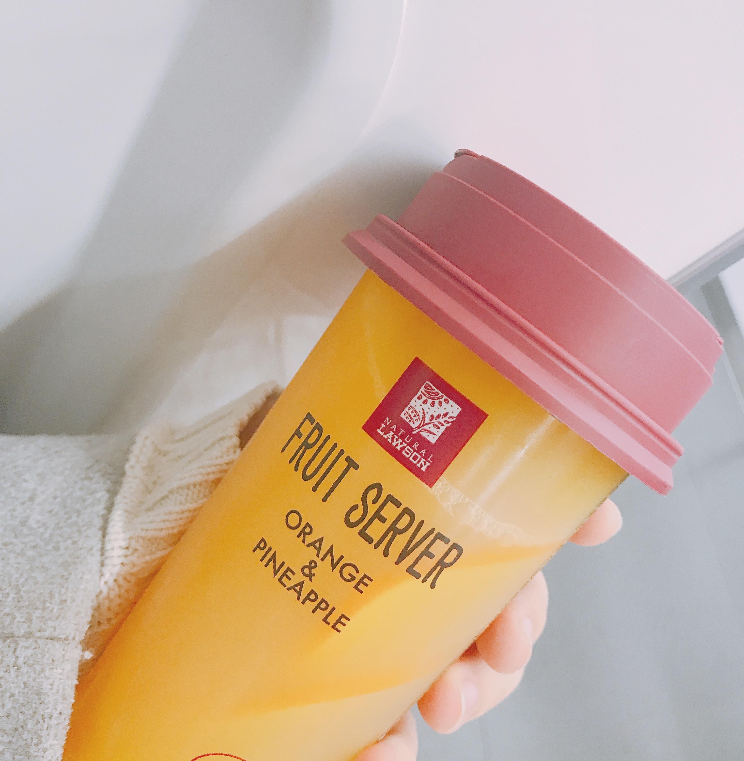 """""""コンビニでカフェジュース?!""""LAWSON新作♡絶品♡フルーツジュース_1_2"""