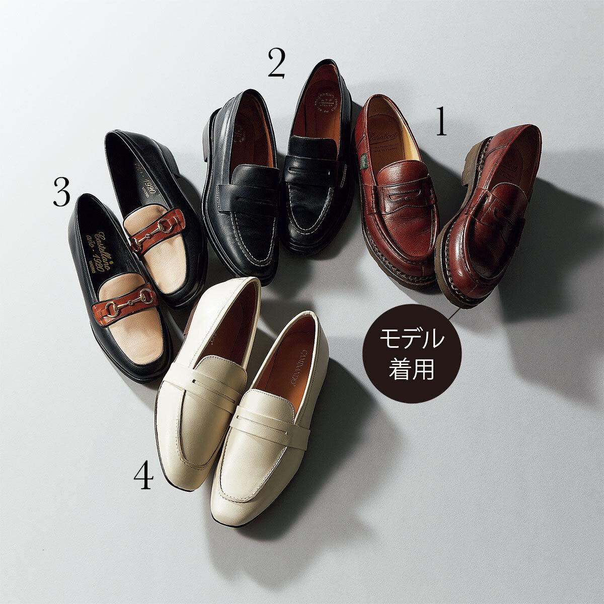 #2 かっちり男靴 大人の女性に必要な知性と端正さを足す