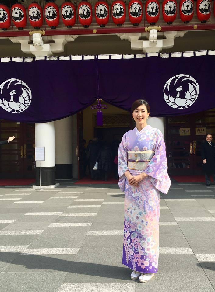 着物で歌舞伎鑑賞へ_1_1