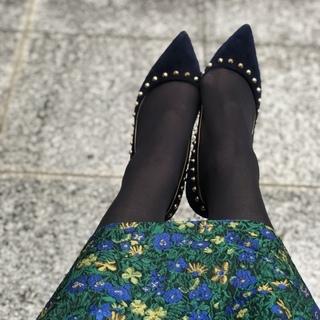 11月号付録「ニュアンスブラック美脚タイツ」コーデ実例!美女組の着こなしまとめ_1_10-2