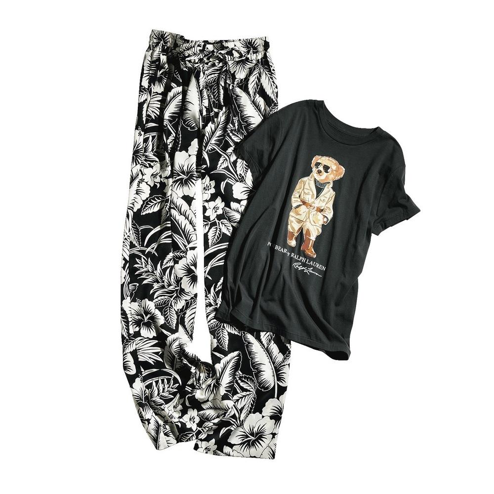 ファッション POLO RALPH LAURENの Tシャツ&柄パンツ