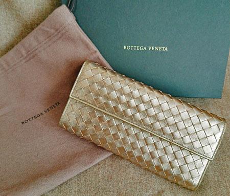 メタリックloverとは私のこと。ゴールドの財布はこれで4代目♡_1_1