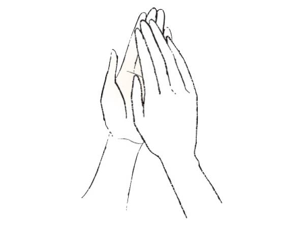 保湿コスメは手のひらで温めてから肌へのせる