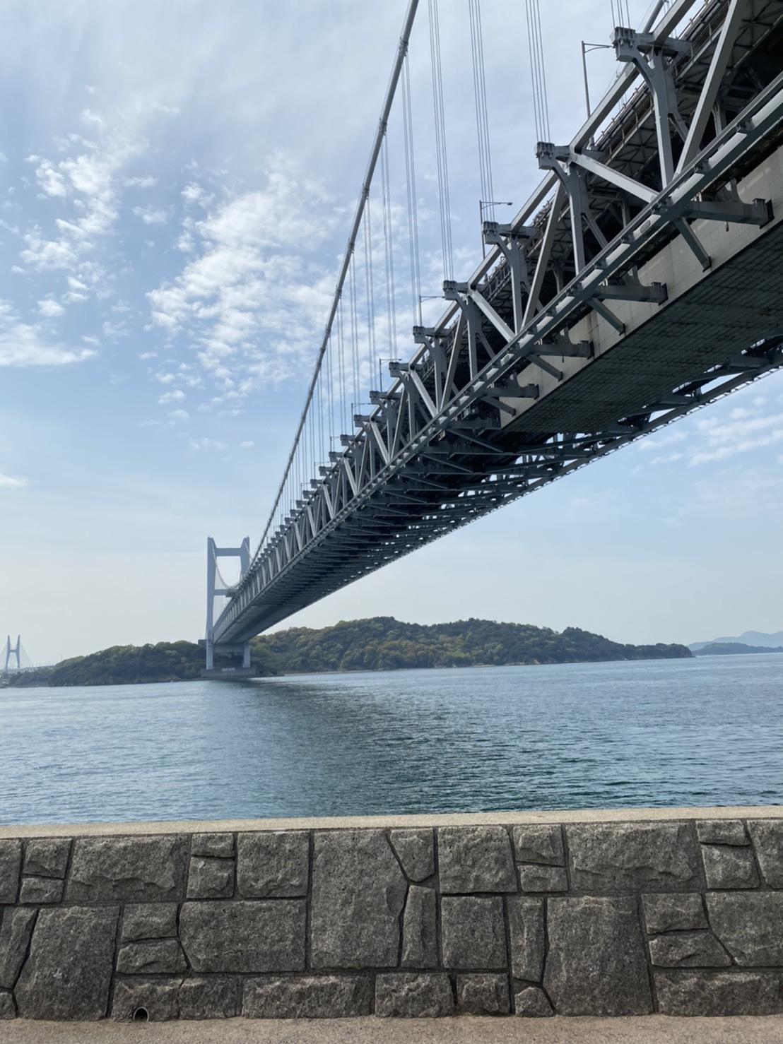瀬戸大橋 下からの画像