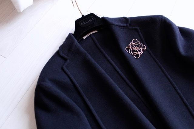 ファッション ロエベのブローチ
