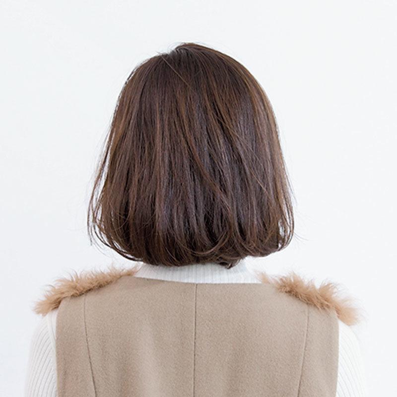 後ろから見た人気ボブヘアスタイル5位の髪型