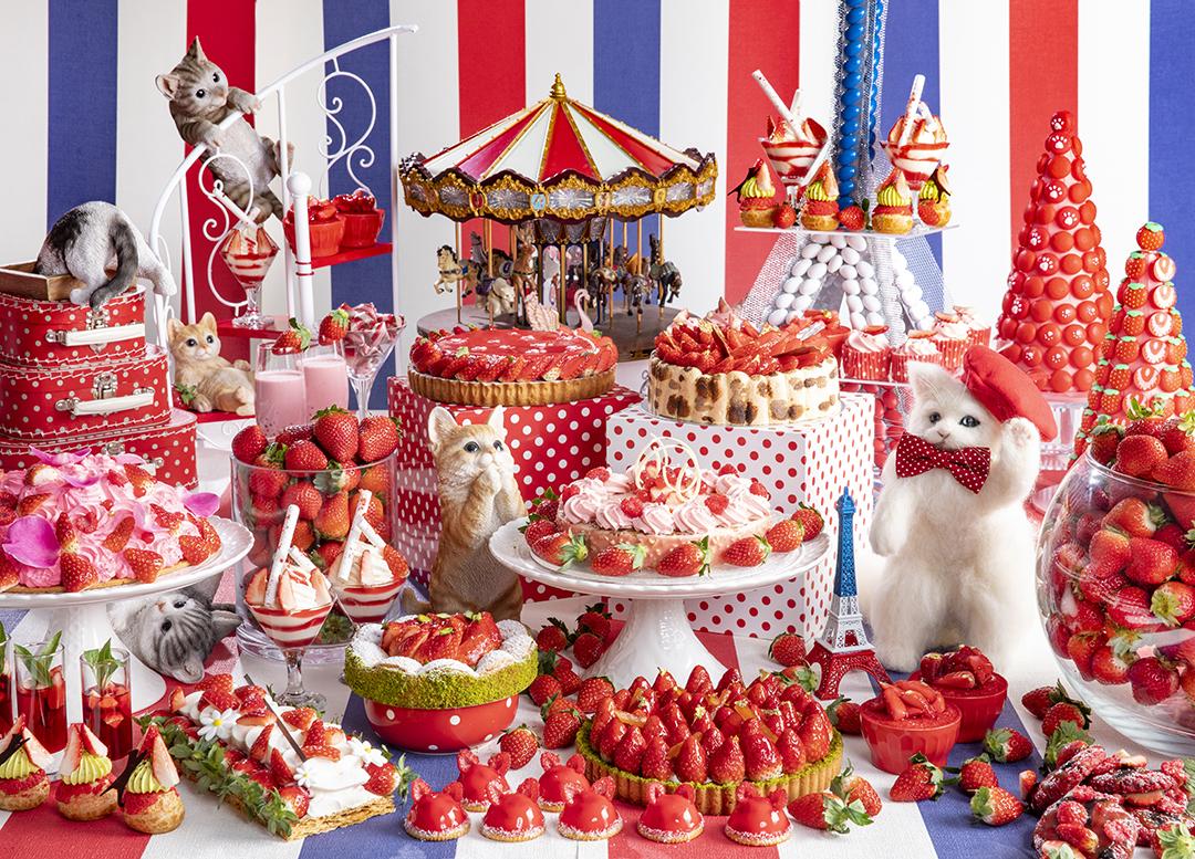 2組4名様をご招待! ヒルトン東京のいちごのデザートビュッフェ「ストロベリーCATS コレクション」♡ _1_1