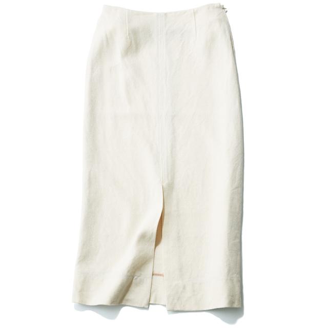 ブルーバード ブルバードの白ロングスカート