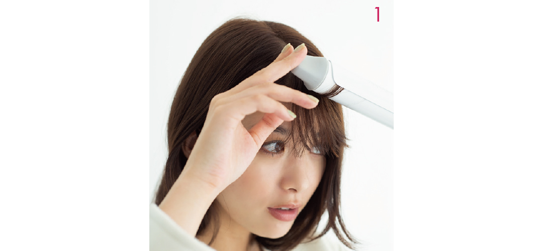 【ヘアアレンジ】マフラー映えする前髪巻き&アシメ感の秘密教えます♡ _1_4