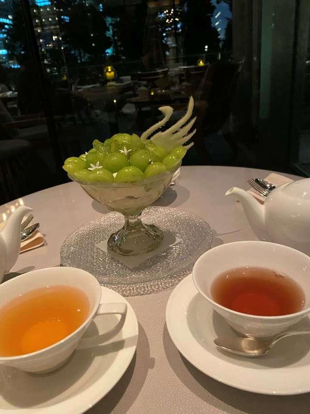 パレスホテル東京で期間限定「秋スイーツ」レポ_1_3