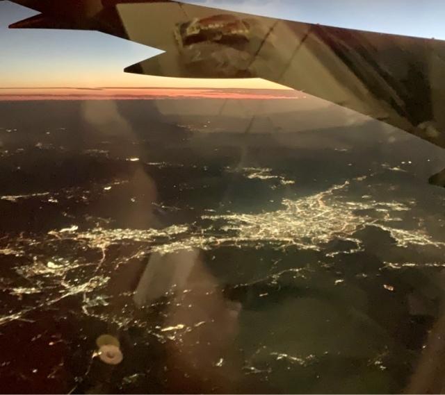 飛行機 韓国