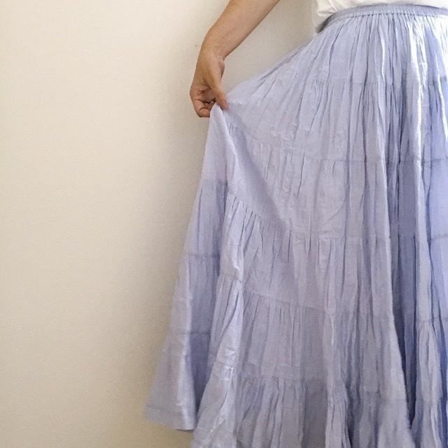 この夏1番のセール戦利品♩MARIHA 草原の虹のスカート♡_1_4-1