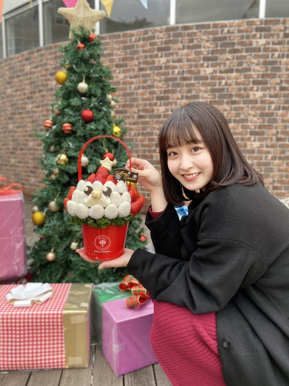 クリスマスパーティーに大活躍❤︎フルーツブーケが主役で決まり!_1_2