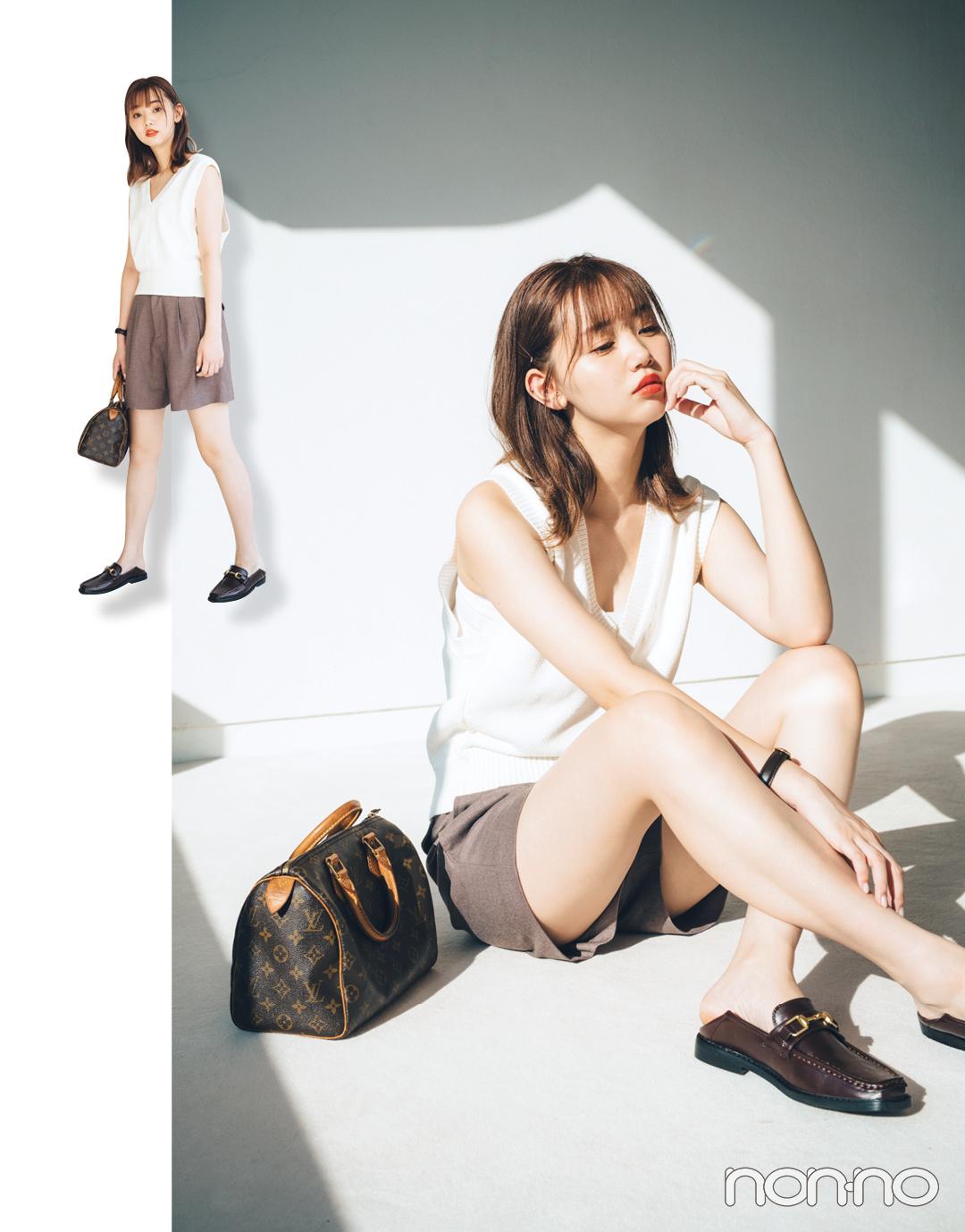 この夏、江野沢愛美は何を着る? ミックスカジュアルの達人の私服コーデを拝見!_1_2-2
