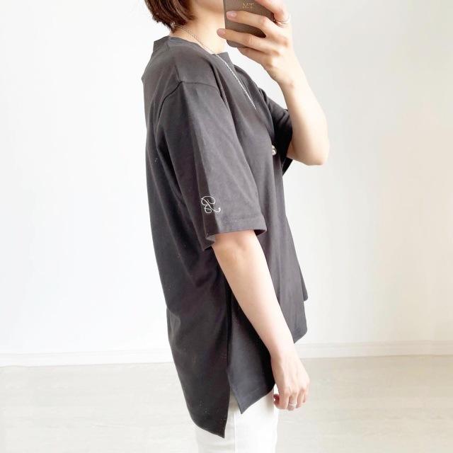 この夏の大本命!プチプラ刺繍ロゴTシャツ【tomomiyuコーデ】_1_7