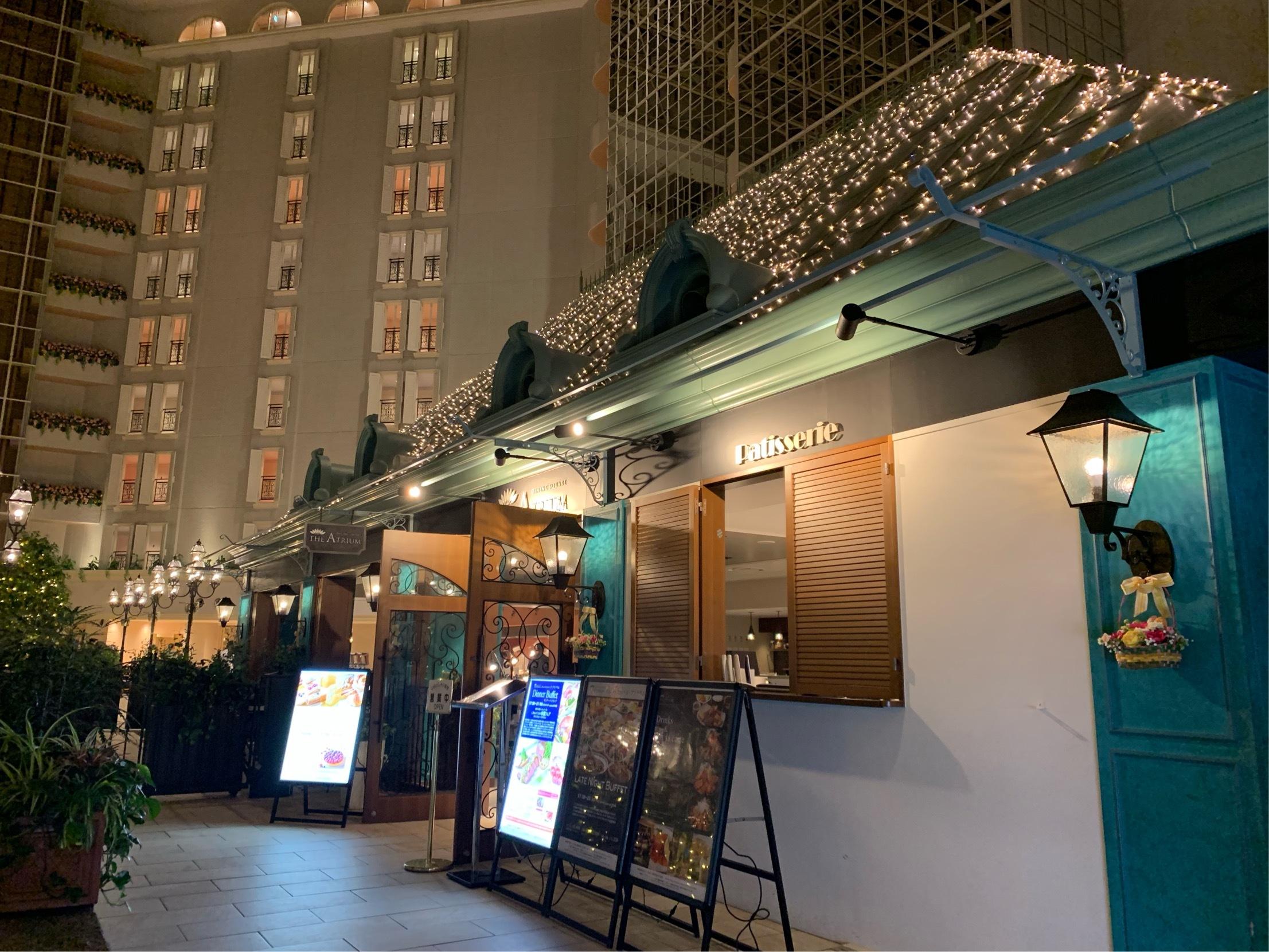 夢の国の後は、ホテルでお夜食ビュッフェ☺︎_1_1