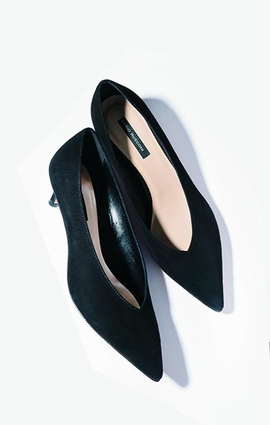パンツの日のタイツ×靴はダークカラー一択で!_1_1-2