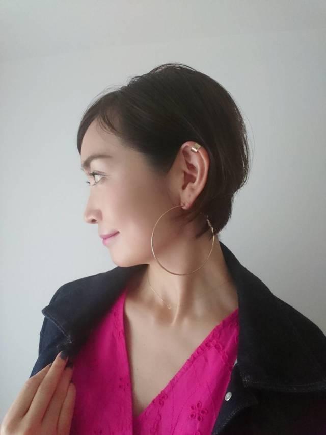 【H&M】鮮やかピンクで40代くすみ顔と気分を明るく!_1_3