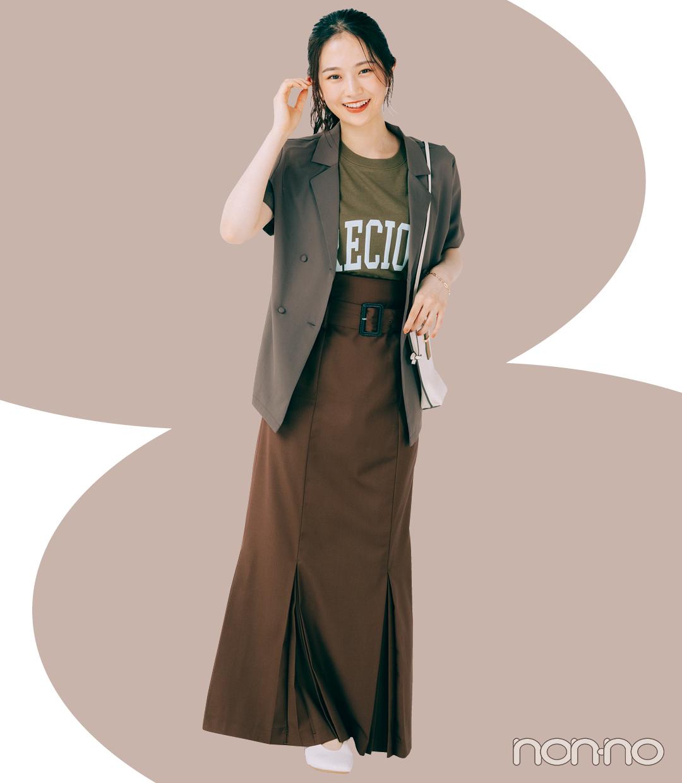 イエローベース秋さんにおすすめの秋旬色モデルカット3-4