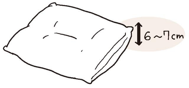 枕選びは日中の首の状態に合わせる
