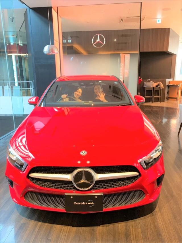 Mercedes me Tokyo「いちごアフタヌーンティー」へ♪_1_1-5