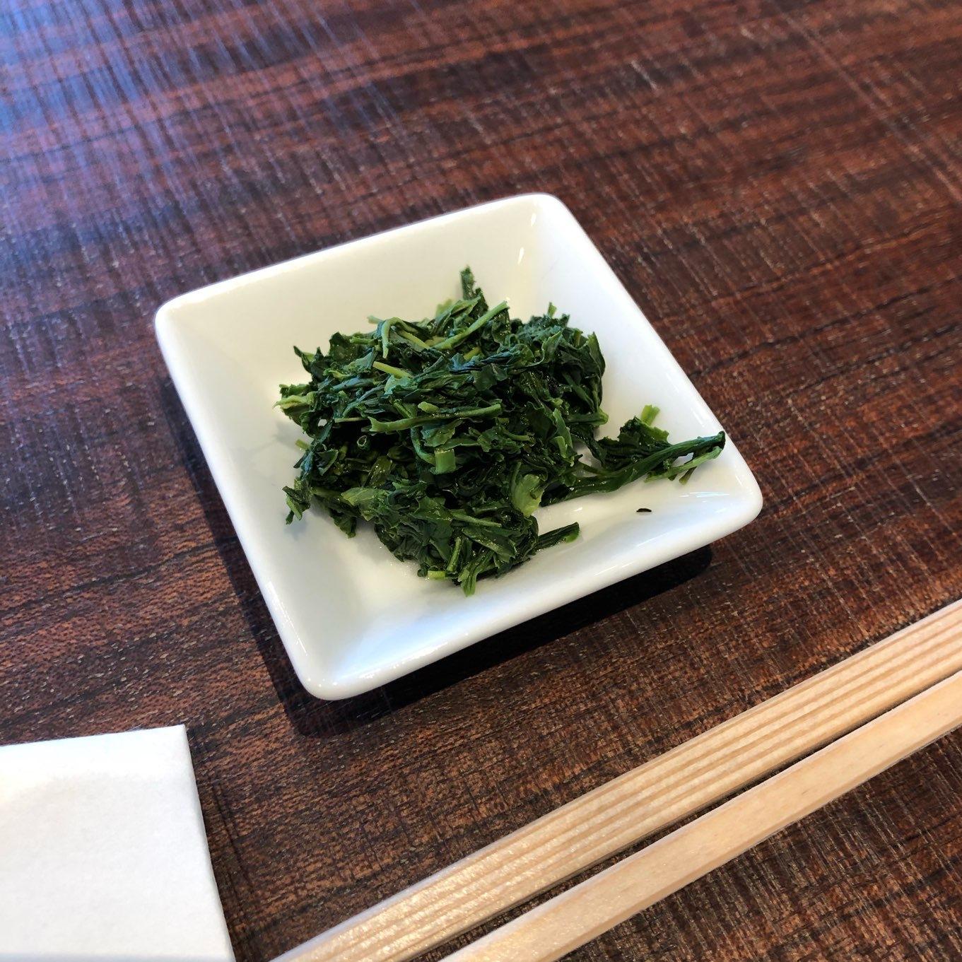 「食べる」茶葉