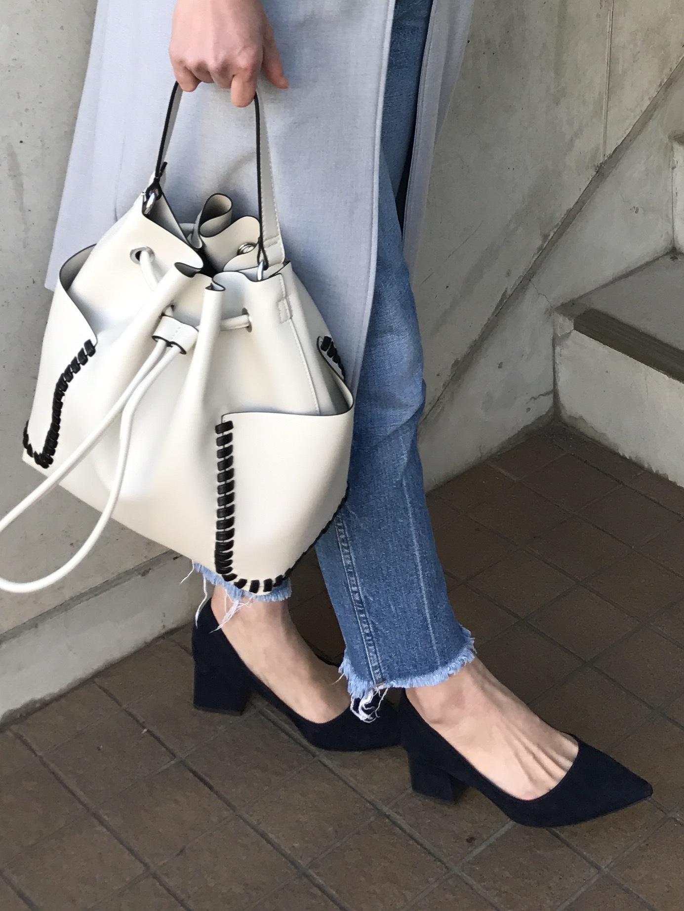 靴もバッグもオール「ZARA」。シーズン初めはZARAからチェック!_1_2