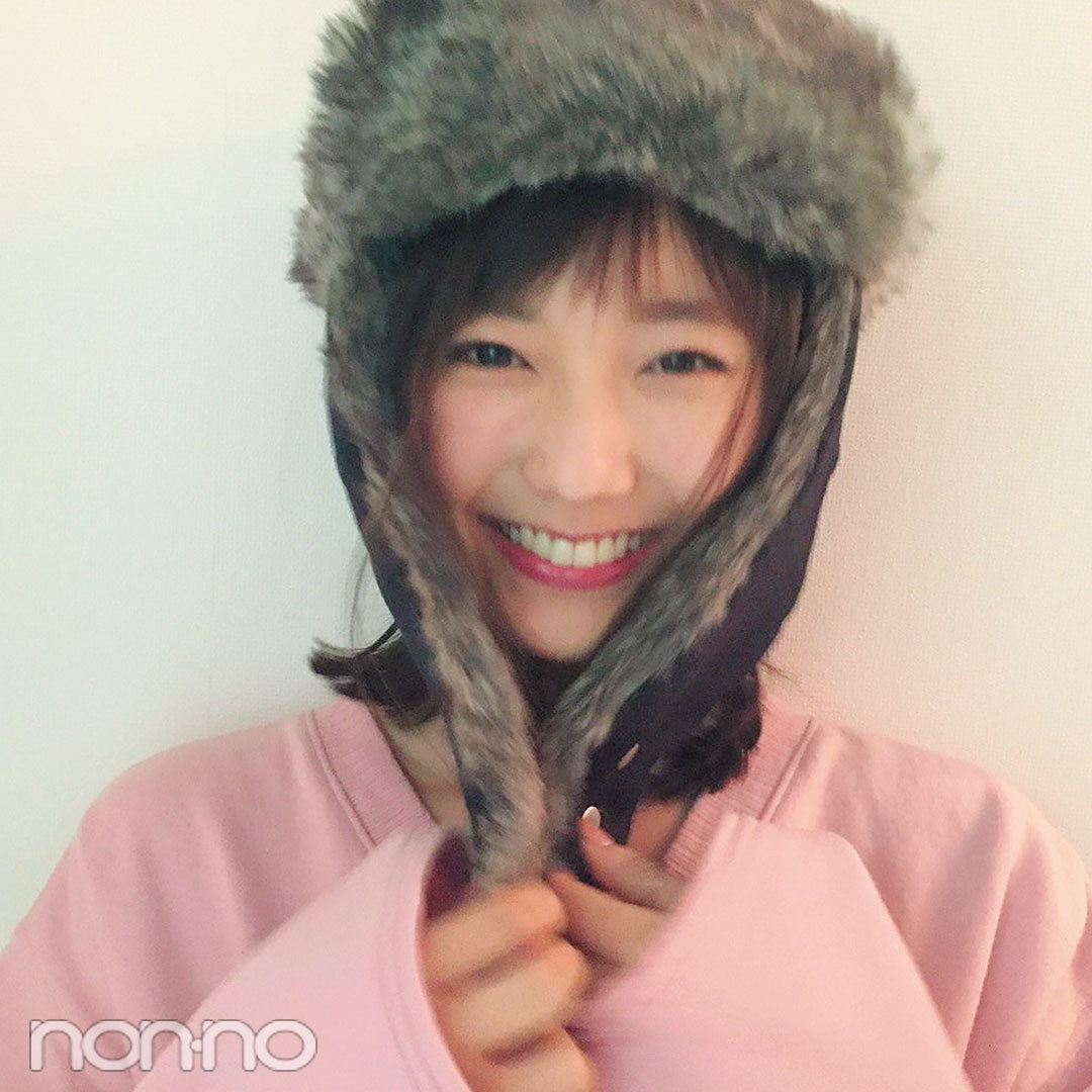 ノンノモデル鈴木友菜が防寒対策に愛用しているのはヒートテックとアレ♪_1_2