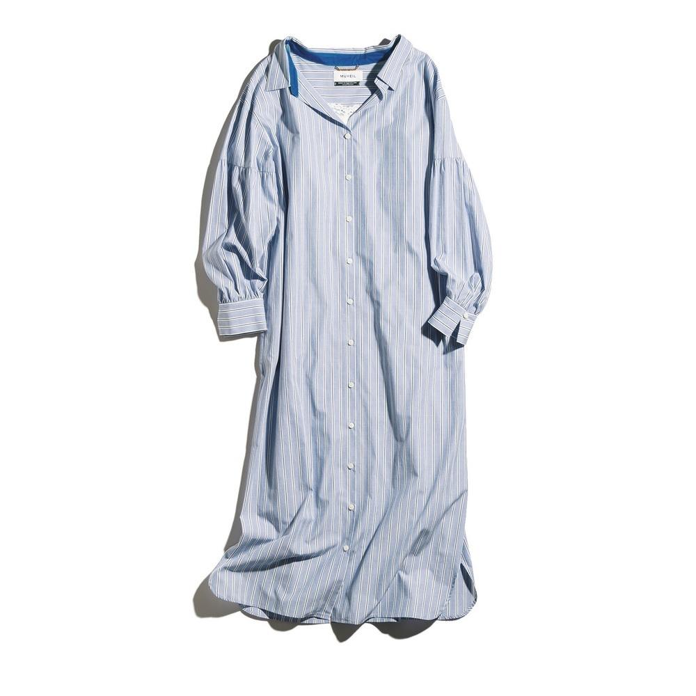 ファッション ミュベールのシャツワンピース