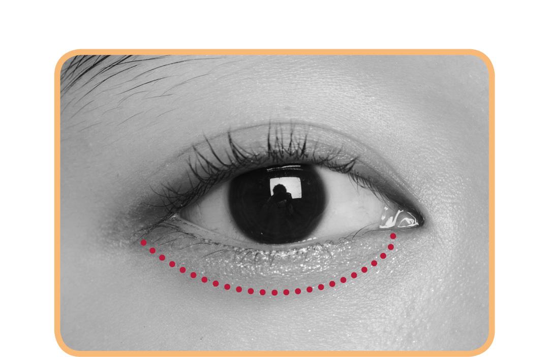 キラキラアイシャドウは、入れる場所で印象激変! 涙袋、目頭、目尻…5つのテクを伝授!_1_4-2