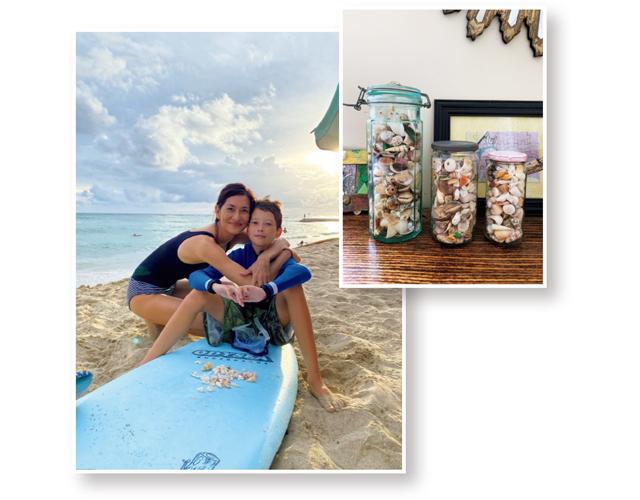 ブレンダのハワイ生活 週末の過ごし方は息子たちとサーフィンしたりきれいな貝殻探し