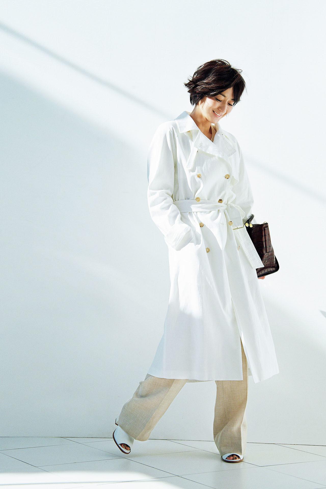 これが最後と思える一着を探して。富岡佳子の 「上がり」のトレンチ 五選_1_1-3