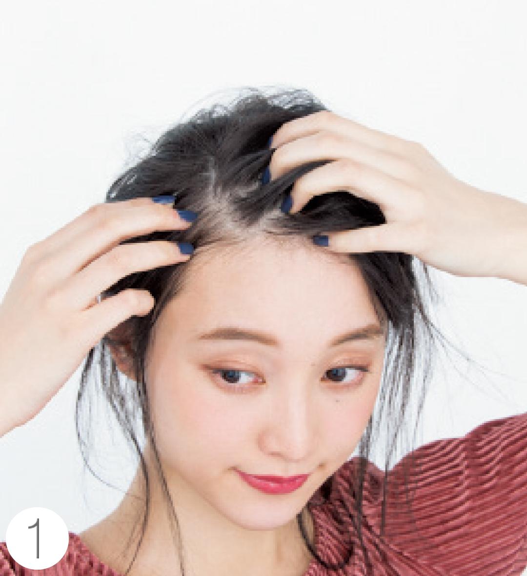 春の前髪アレンジ★ふんわりカールとクールな斜め前髪の作り方をていねい解説!_1_5-1