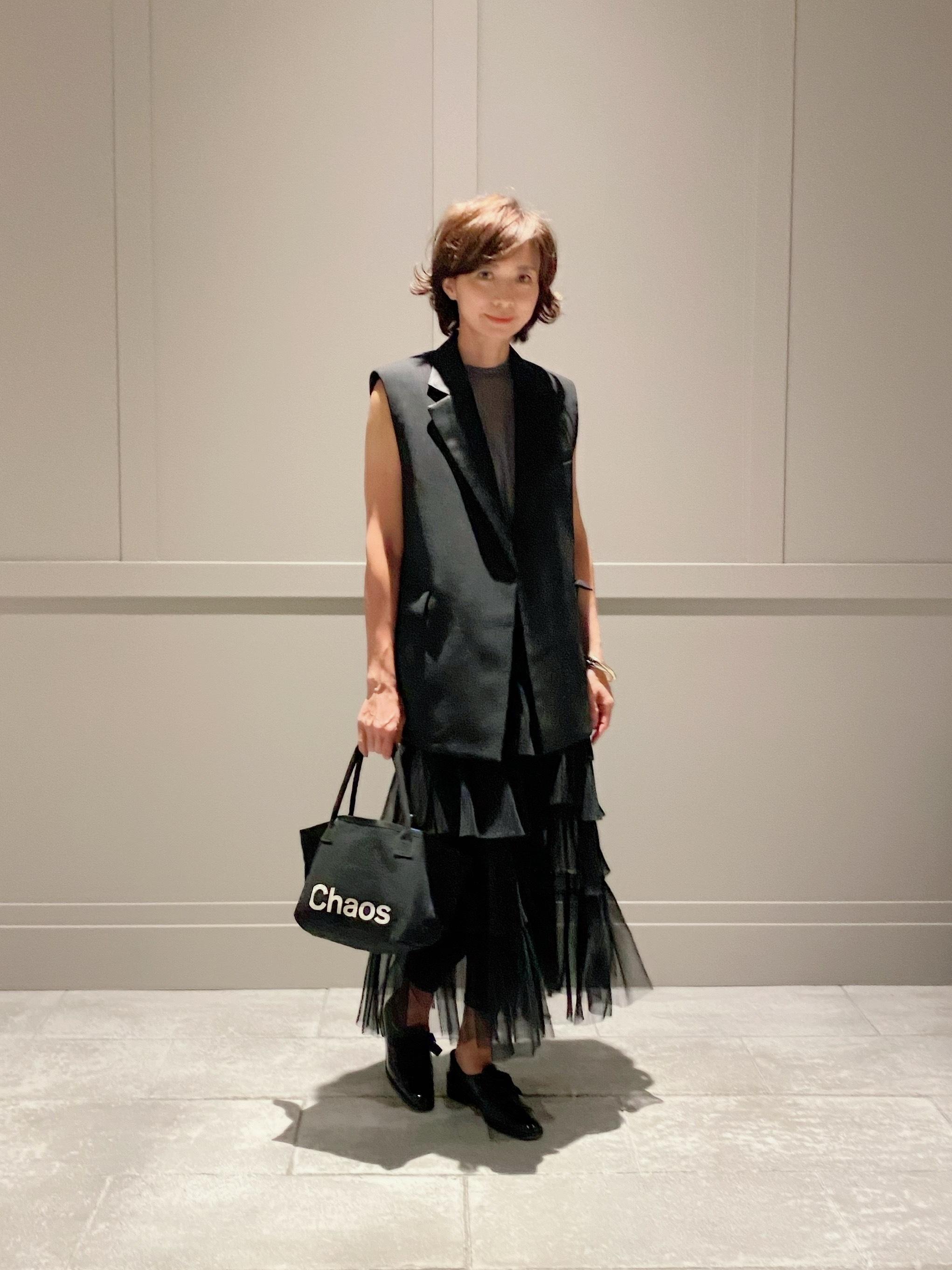 10月号特別付録のバッグと格上げフラット靴で話題のミュージカル鑑賞へ_1_2