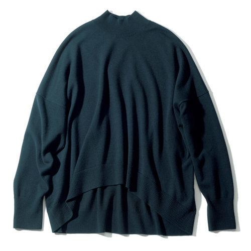 スタイリスト地曳いく子さんさんがセレクト!「CINOH」のハイネックニット&ロングTシャツ_1_2