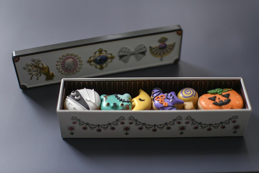 お菓子のミカタのお菓子缶を使用したwooyu factoryのクッキー